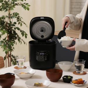 MO-SK002 plusmore(プラスモア) サラダチキンがつくれる 糖質カット炊飯器 楽しく使えるレシピブック付