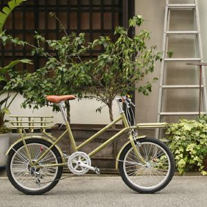 WBG-2002 WACHSEN(ヴァクセン) 20インチカーゴバイク 6段変速 ROKE